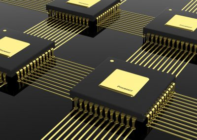Photonic multi-chip integration